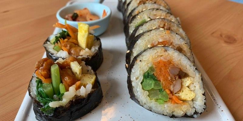 台中北區美食|K bab大叔的飯卷 韓國人經營的韓式料理 飯捲大推薦