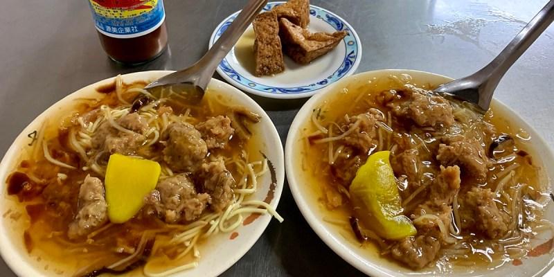 台中東區|傳台中正老牌香菇肉羹 後火車站與舊第一市場的老味道