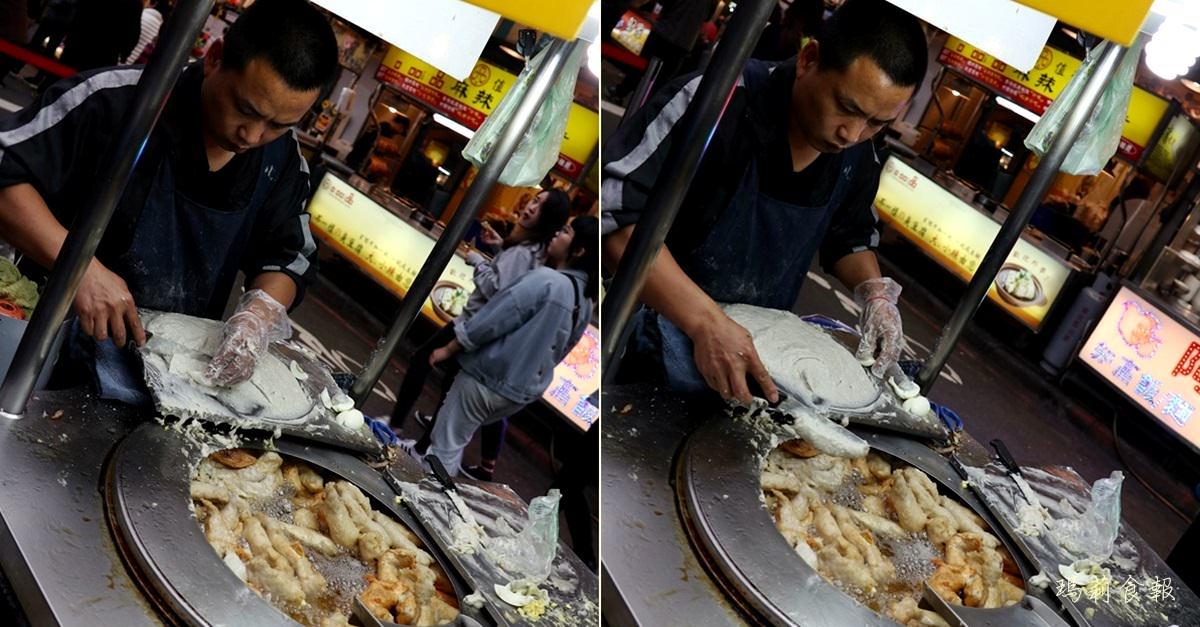 台北龍山寺捷運站,東港旗魚黑輪,艋舺夜市裡的銅板美食,美鳳有約跟草地狀元都推薦,萬華丁香旗魚串