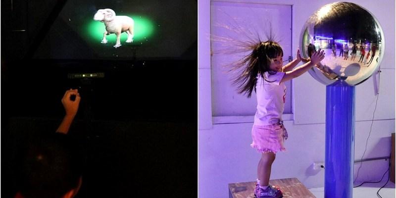 台中觀光工廠 喜晶A光學觀光工廠 VR、AR遊戲互動學習 台中親子旅遊好選擇