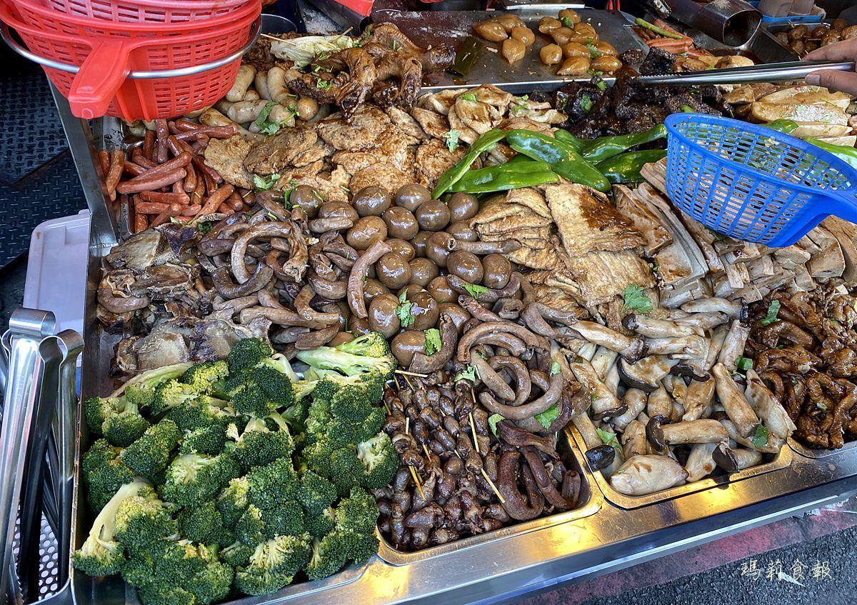 10元滷味串燒,一中冷滷,十元滷味,一中商圈銅板美食,台中北區美食,一中小吃