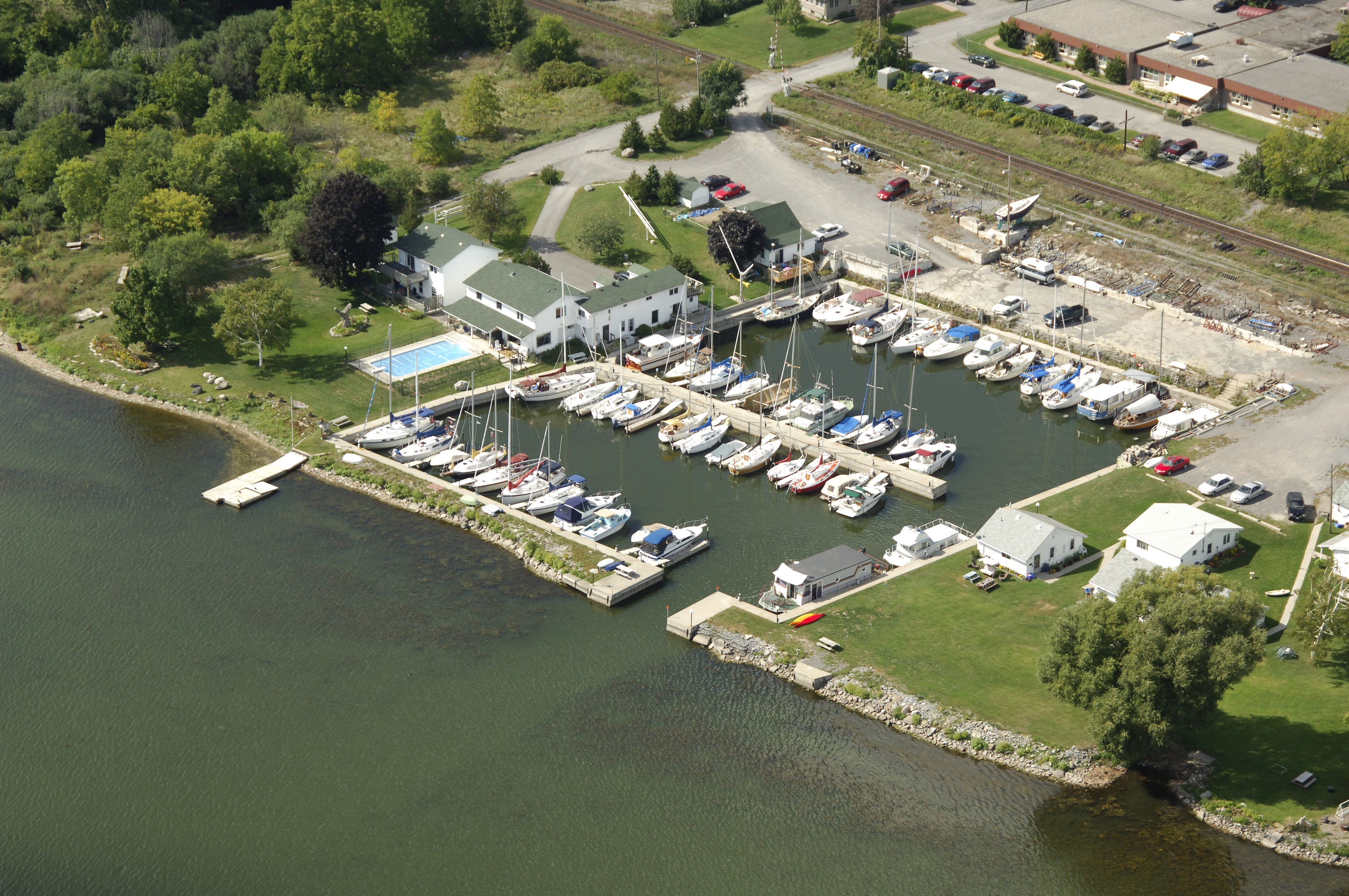 Stillwater Basin In Belleville ON Canada Marina