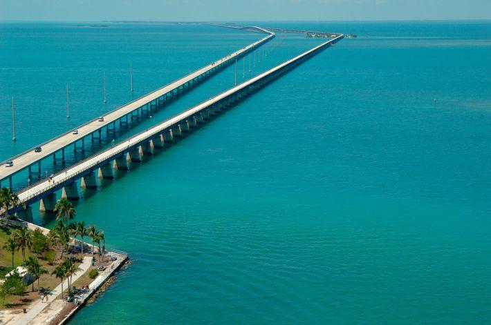 Image result for Seven Mile Bridge, Florida