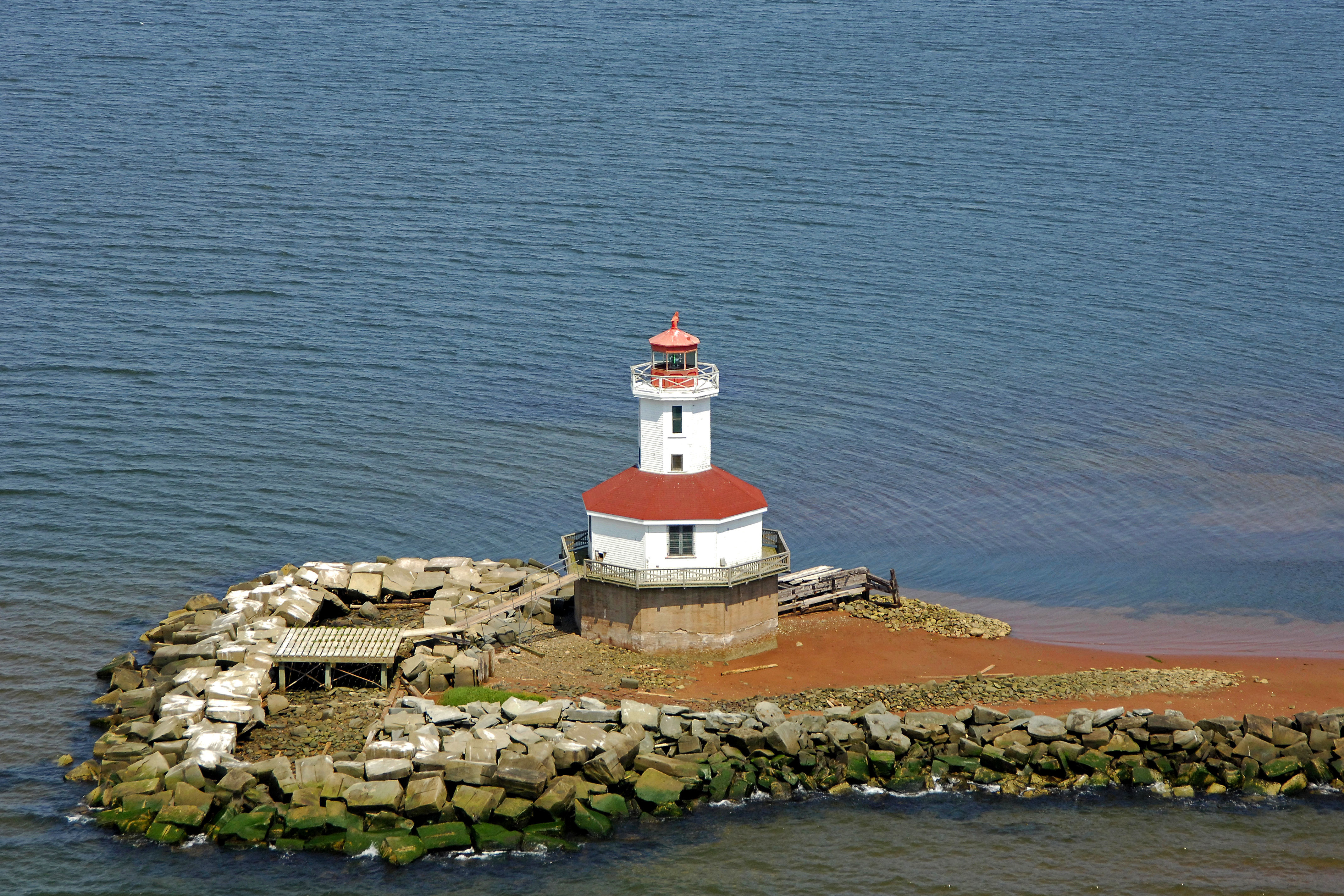 Indian Head Lighthouse In Summerside PE Canada