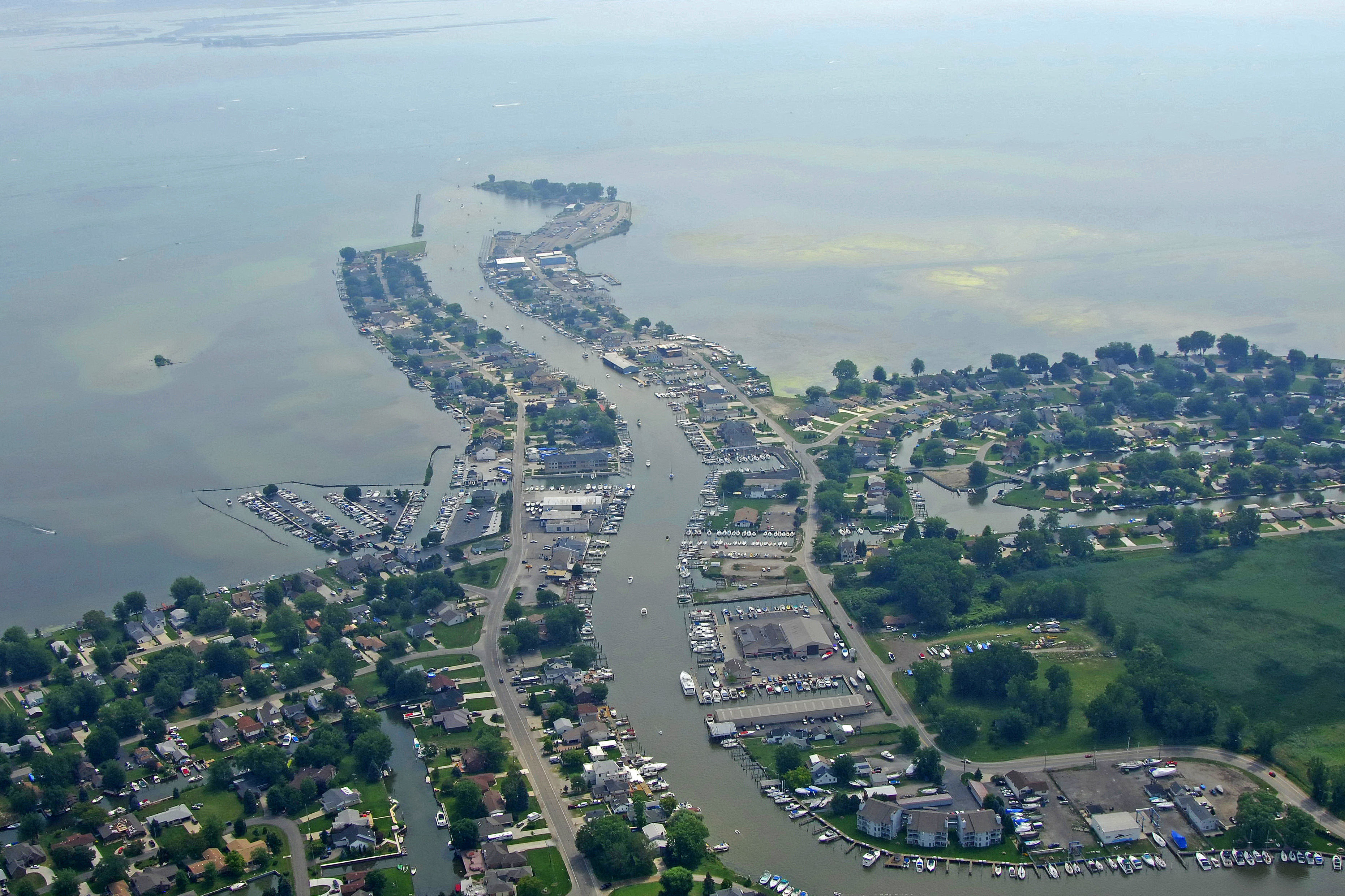 Mount Clemens Harbor In Mount Clemens MI United States