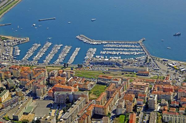 Ajaccio Port Charles Ornano Marina In Ajaccio France
