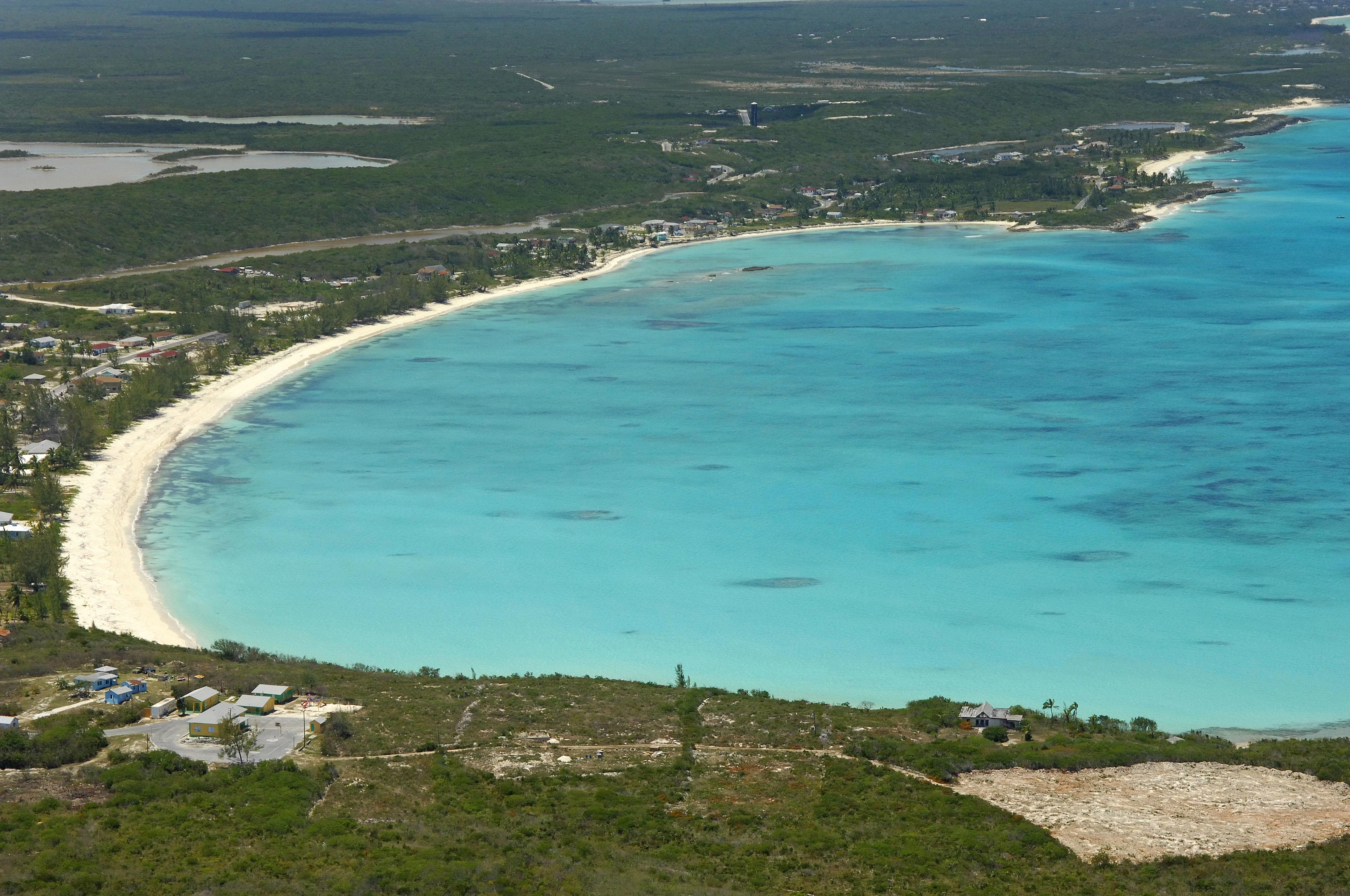 Emerald Bay Anchorage In Emerald Bay EX Bahamas