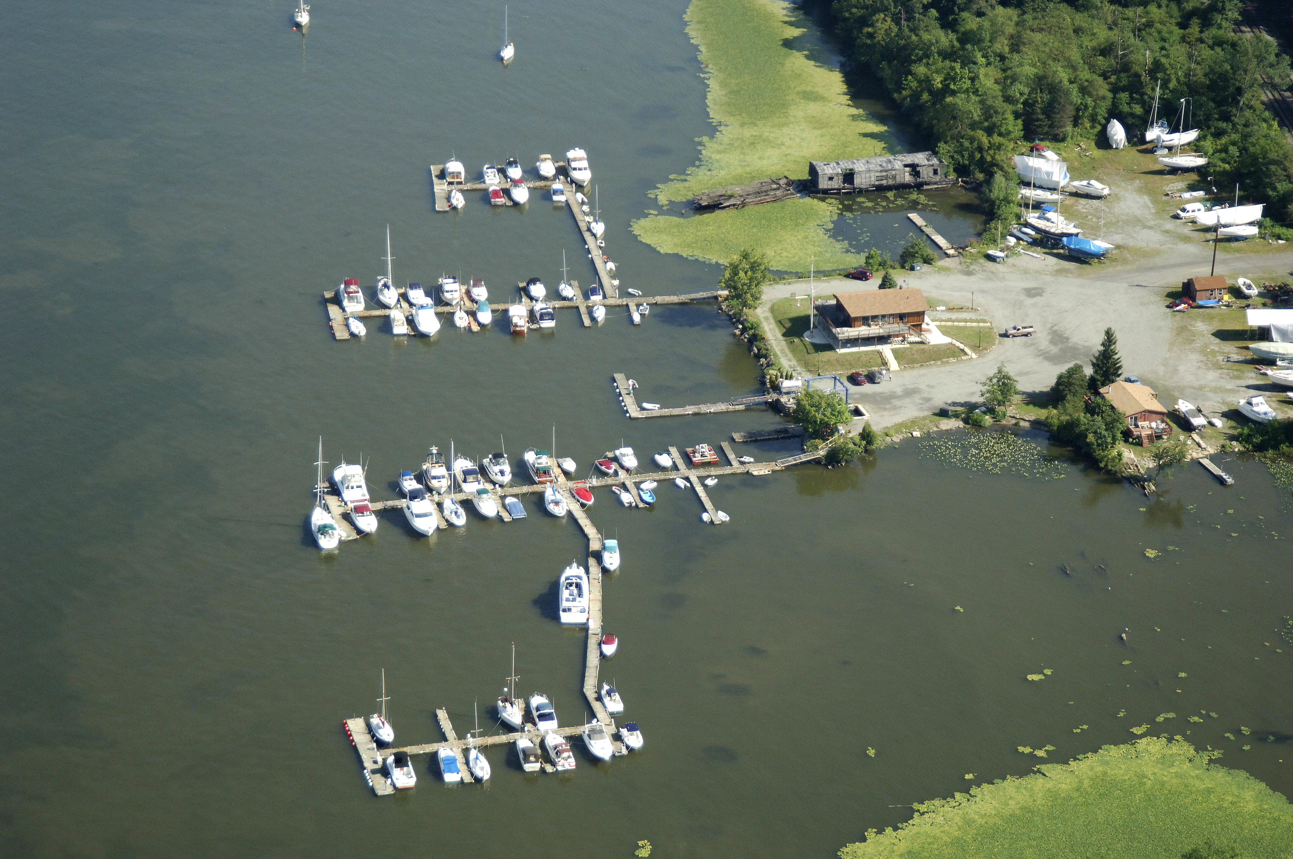Poughkeepsie Yacht Club In Hyde Park NY United States