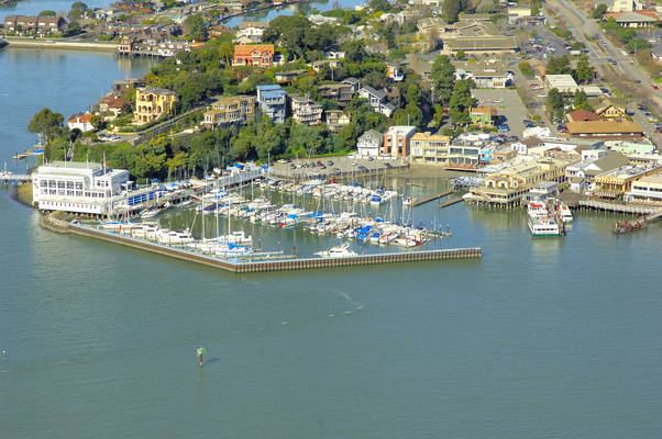 Corinthian Yacht Club Of San Francisco In Tiburon CA