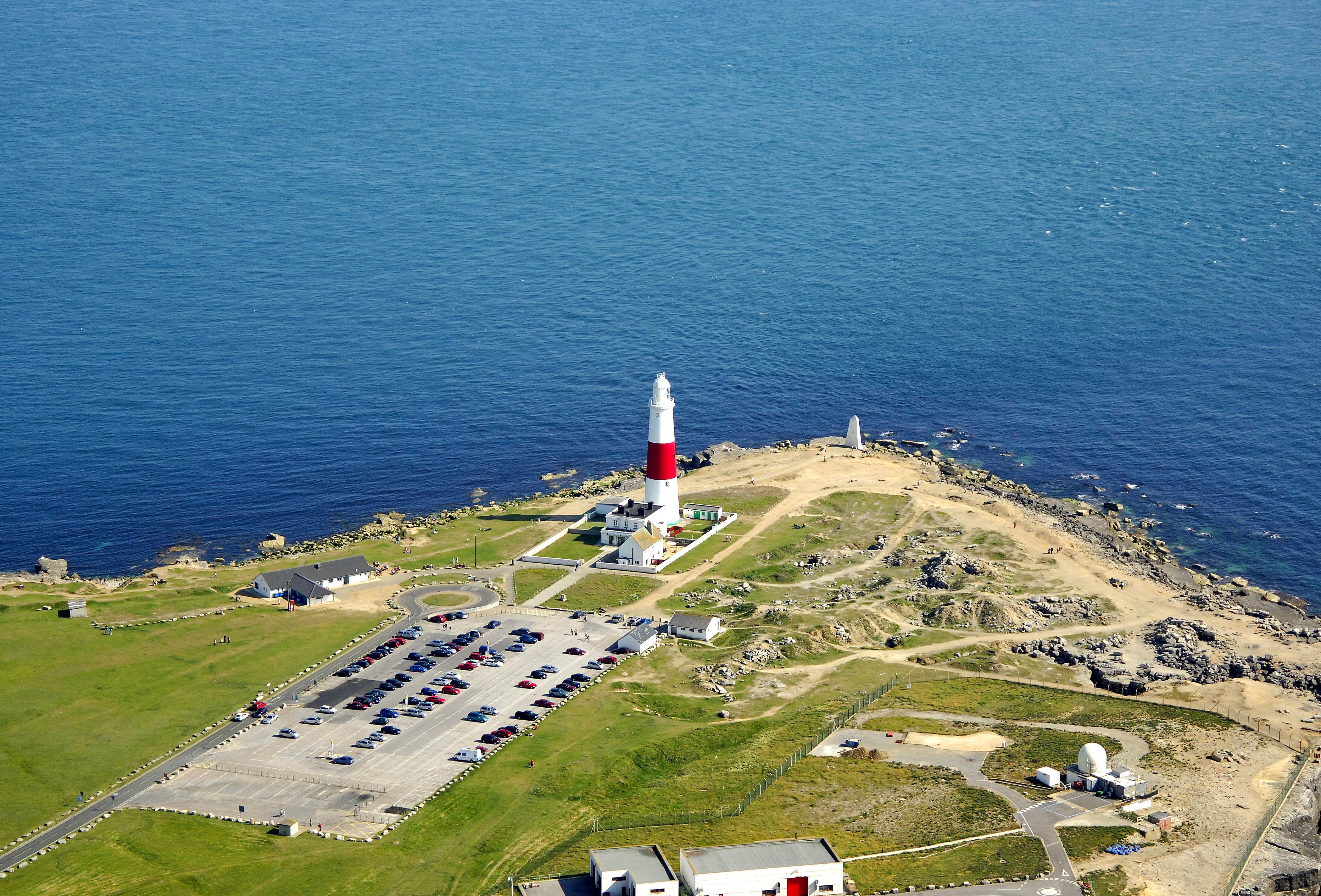 Portland Bill Light Lighthouse In Easton GB United
