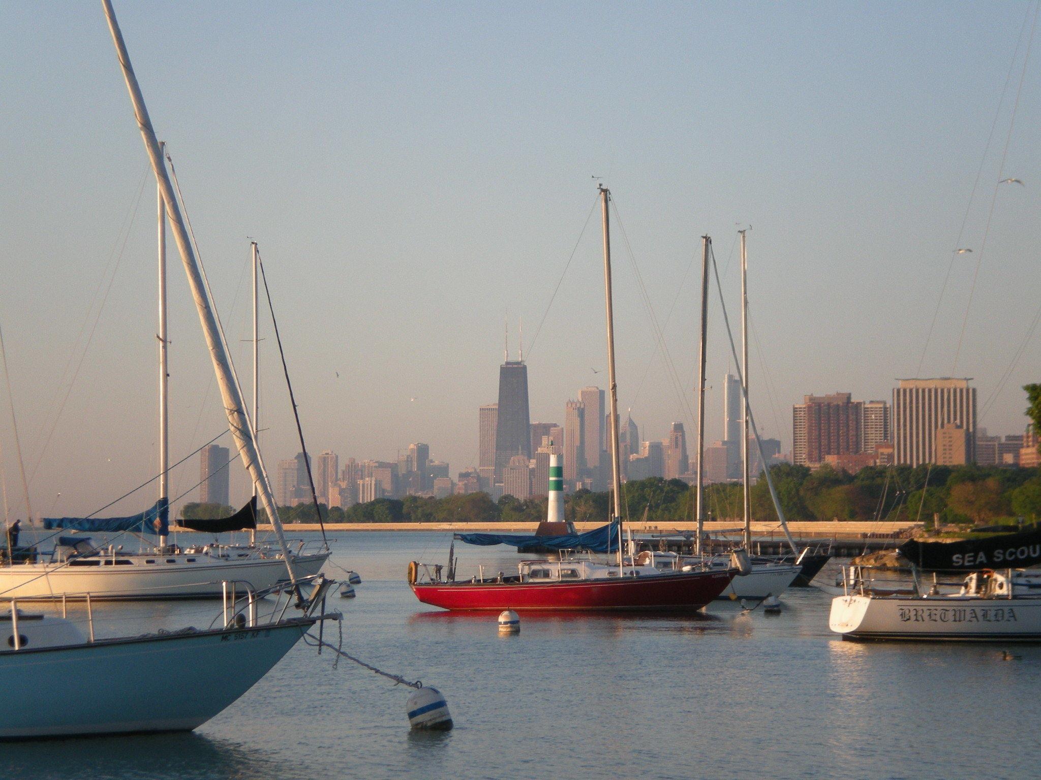 Montrose Harbor The Chicago Harbors In Chicago IL