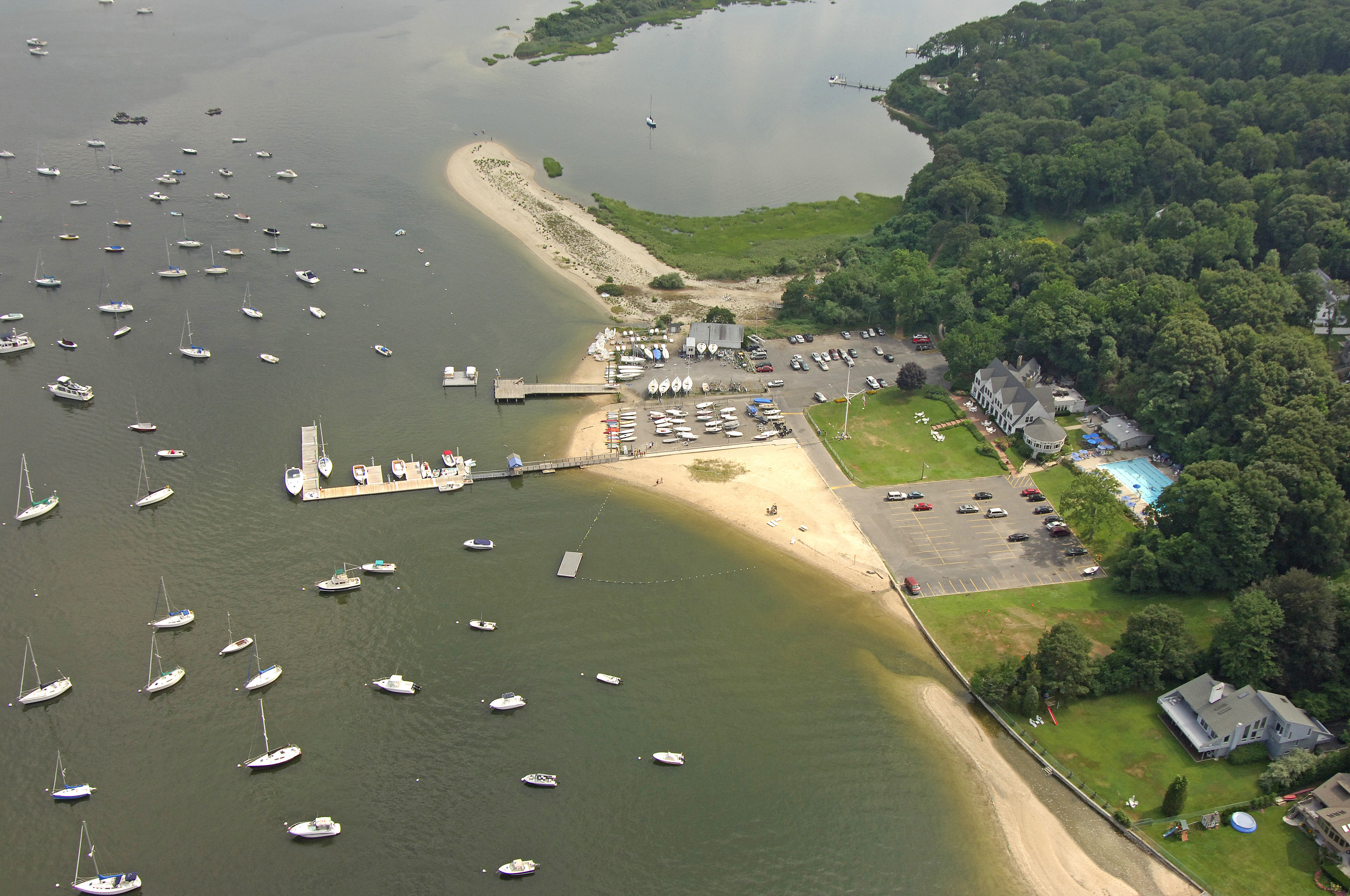 Centerport Yacht Club In Centerport NY United States