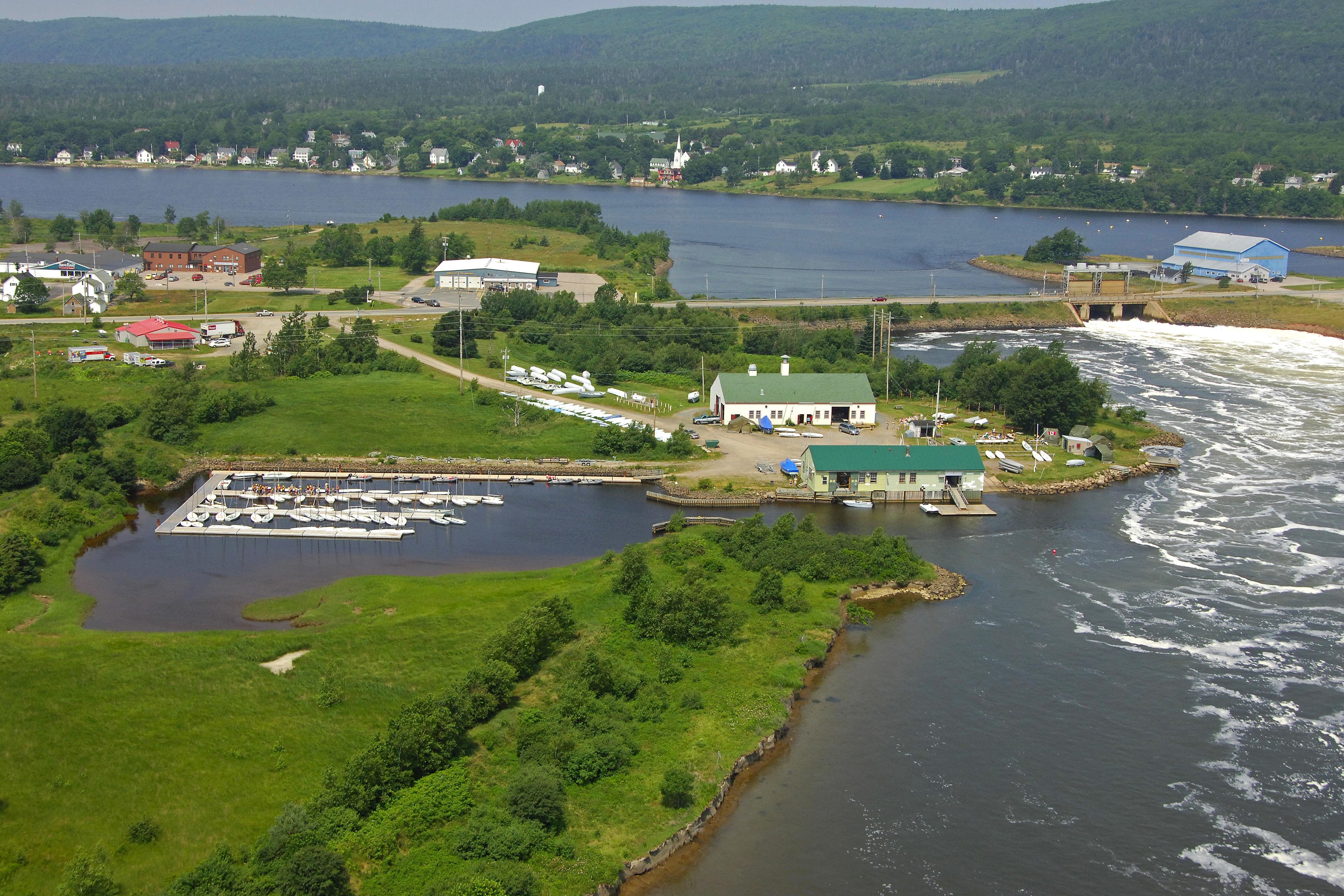 Lloyd M Bourinot Sail Centre In Annapolis Royal NS