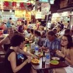 warung makan di Temple Street Market