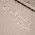 menulis di atas abu kelud