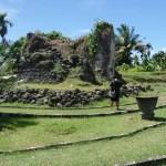 reruntuhan sisa Benteng Kastela