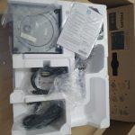 isi kardus monitor monitor Philips 245B1/00 bagian atas