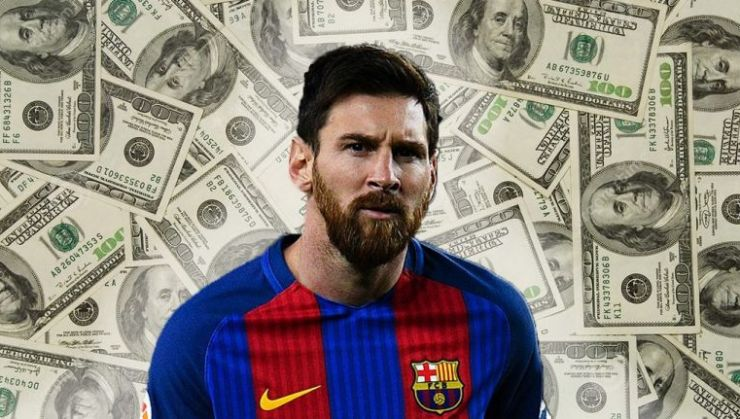 Image result for Messi money