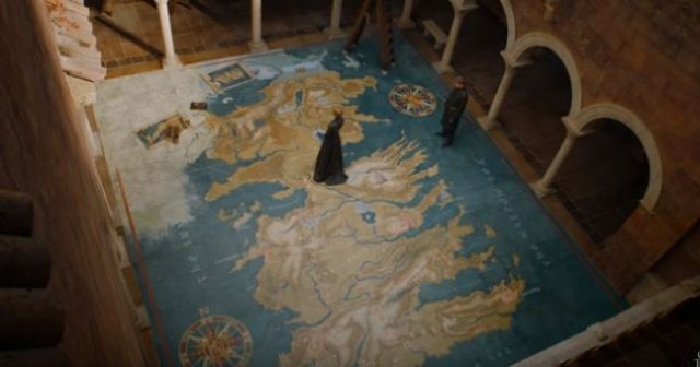 Someone Spotted An Incredible Hidden Message In This Scene On Game Of Thrones cerseijaimemap