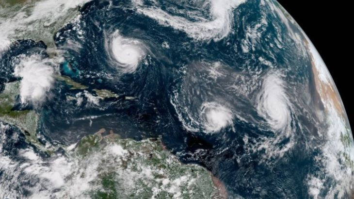 WATCH: Space Station's view of Hurricane Florence looks eerily apocalyptic
