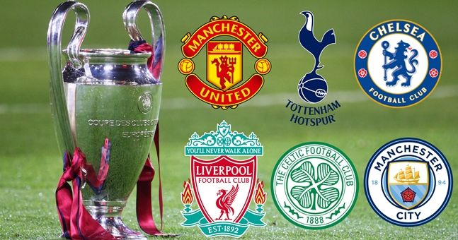Image result for Champions League and Europa League draws: Who can the British teams face next?