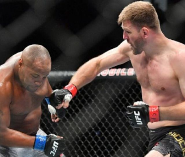 Stipe Miocic Not Impressed With Daniel Cormier At Ufc 230 Believes He Should Have Gotten