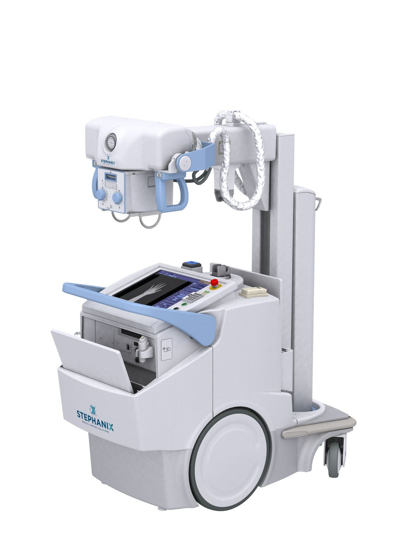 Digital mobile radiography unit - MOVIX Series DReam - Stephanix