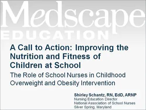 Childhood Obesity And Nurses