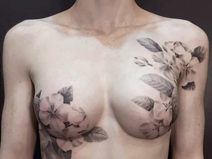 Tattoos Help Breast Cancer Patients Heal After Mastectomy