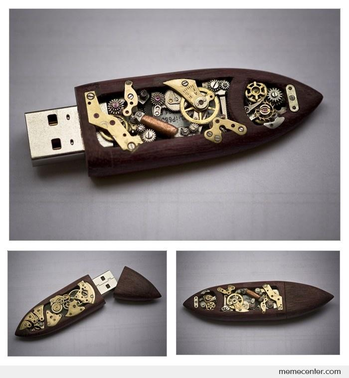 The Age Of Cool Steampunk Usb Stick By Ben Meme Center