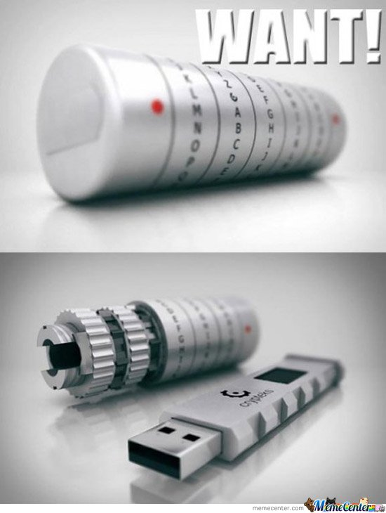 The World S Most Secure Usb Drive By Darkerm Meme Center