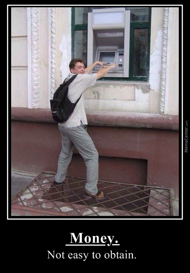A New Extreme Sport Cash Withdrawal By Fraterbbobbo Meme Center