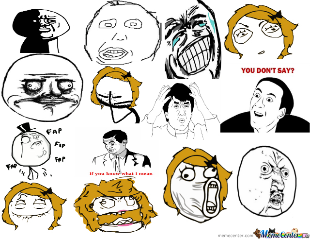 Draw All The Rage Faces