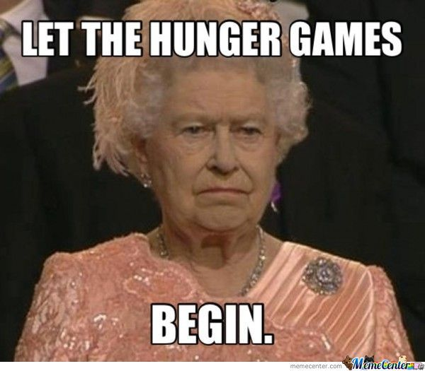 25 Best Memes About Hunger Games Meme May The Odds Hunger