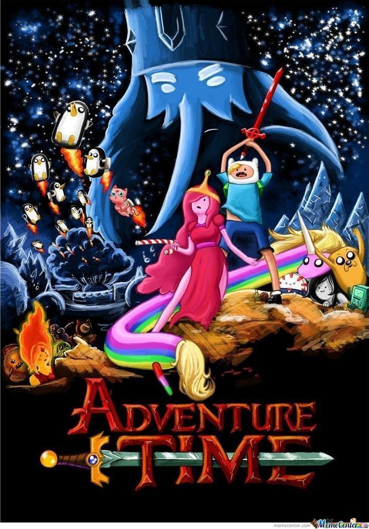 Awesome Adventure Time Star Wars Crossover By Bacon