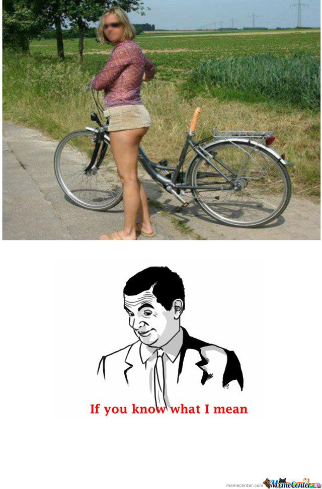 Bicycle Seat Ftw By Mwormington Meme Center