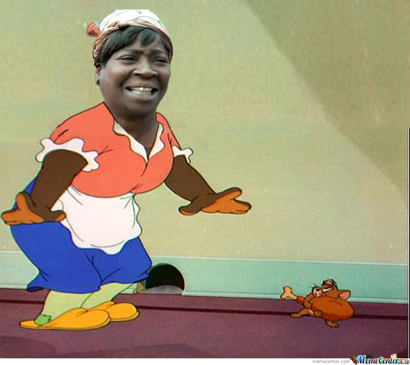 Face Mammy Two Shoes Tom And Jerry By Hadie Azazel Meme Center