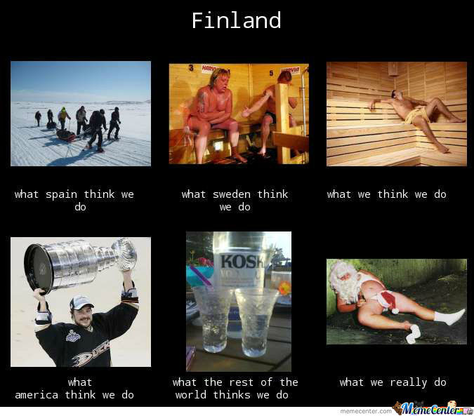 Finland By Funzyy Meme Center