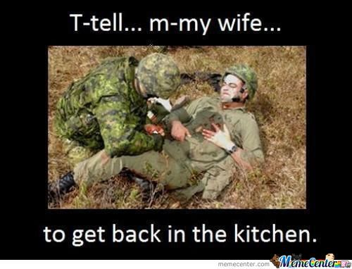 Get Back To The Kitchen By Shadowgun Meme Center