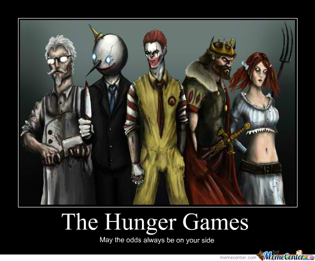 Wins The Hunger Games And Becomes Rich Still Hunts For Food