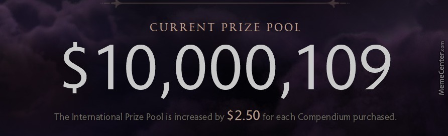 Dota 2 Still Has Larger Overall Prize Pools Than The Next 4 Games