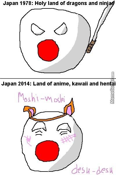 Japan What Would We Do Without You By Yu Ball Comics Meme Center