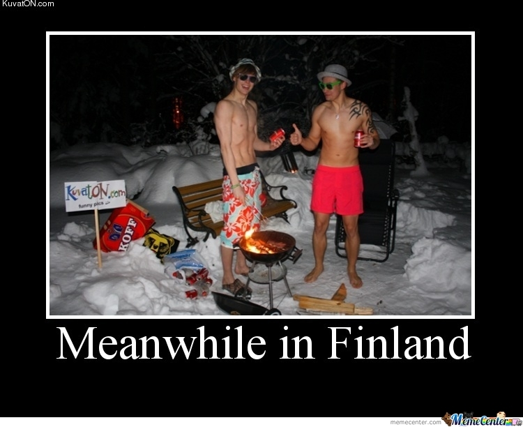Meanwhile In Finland By Ilee75 Meme Center