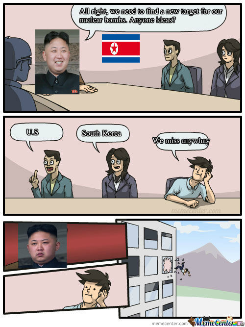 Meanwhile In North Korea By Mac Cheese17 Meme Center