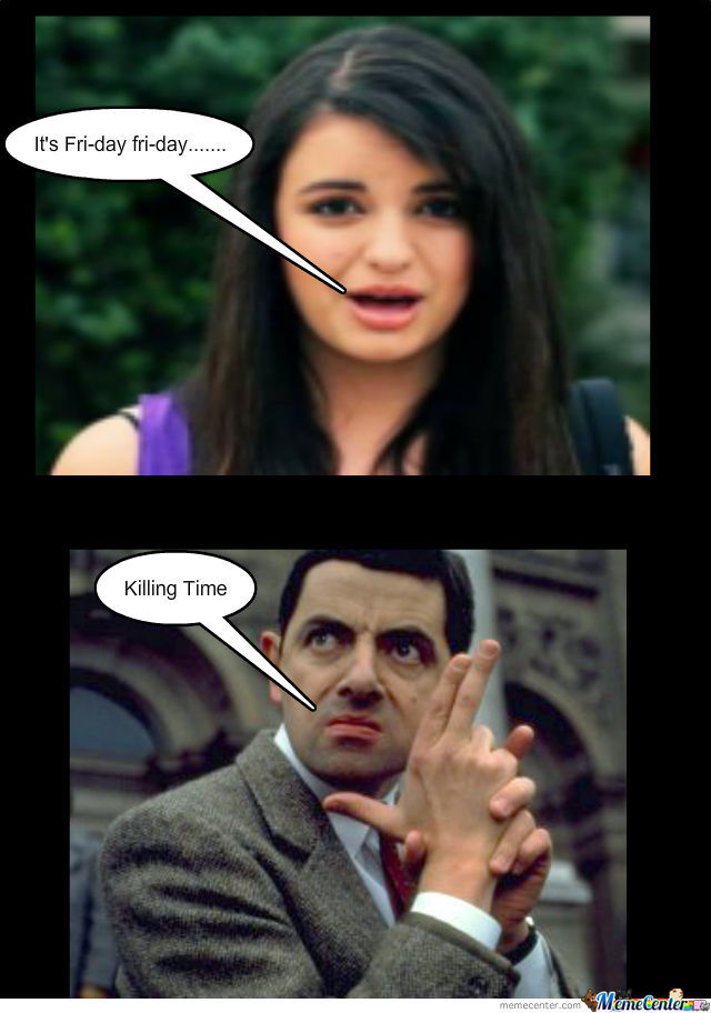 Mr Bean Hates Friday By Shabaan5 Meme Center