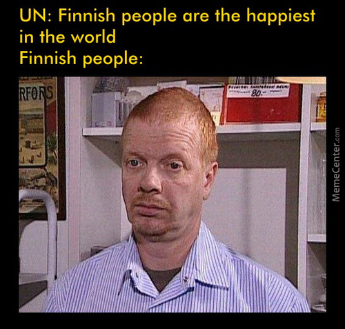 Someone Blames Finland S Success On Being All White And