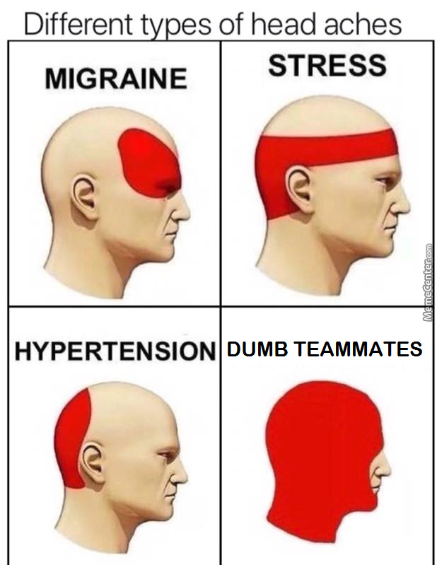 Occurs After Slamming Your Head To Your Desk By Rex Zone Meme Center