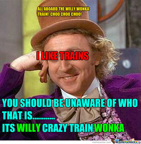 Psycho Train Lover By Chocolatechipcookie6 Meme Center