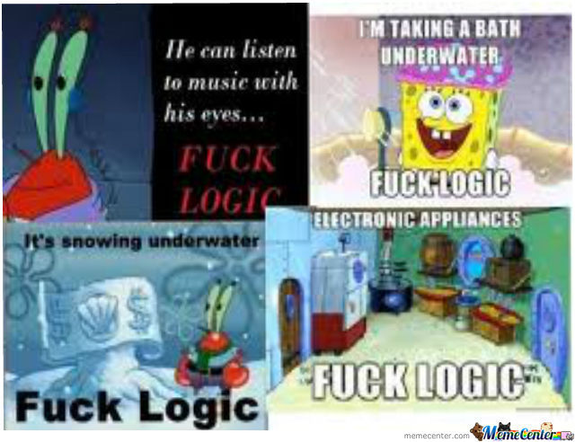 Stop Your Logic Hurts My Brain Lolcats Lol Cat Memes