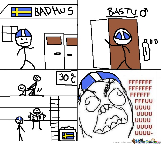 Swedish Sauna By Asphyx Meme Center